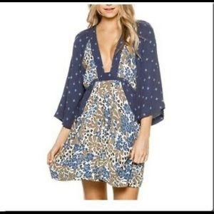 NWT free people talulla mini dress Sz large